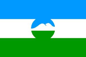 Â�バルダ・バルカル共和国の旗